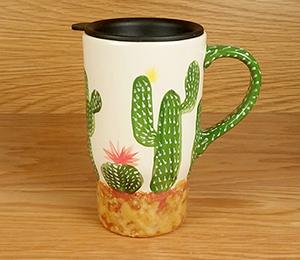 Dublin Cactus Travel Mug