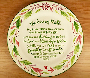 Dublin The Giving Plate