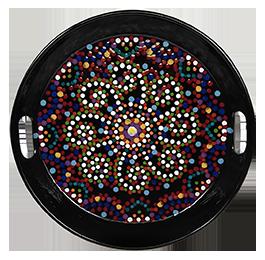 Dublin Mosaic Mandala Tray